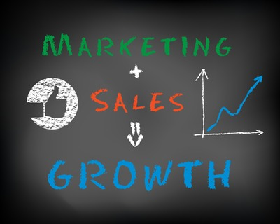marketing and sales generate growth